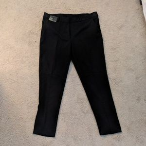 ASOS crop black dress pant